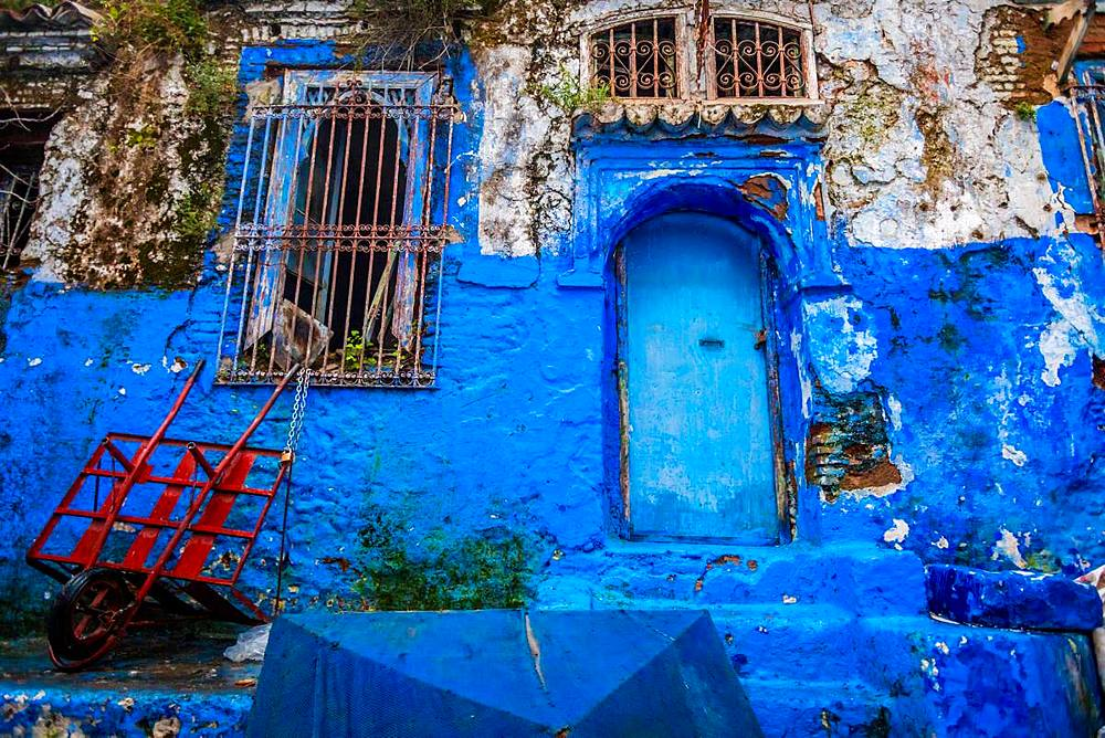 Blue City of Chefchaouen, Morocco, North Africa, Africa - 1218-674