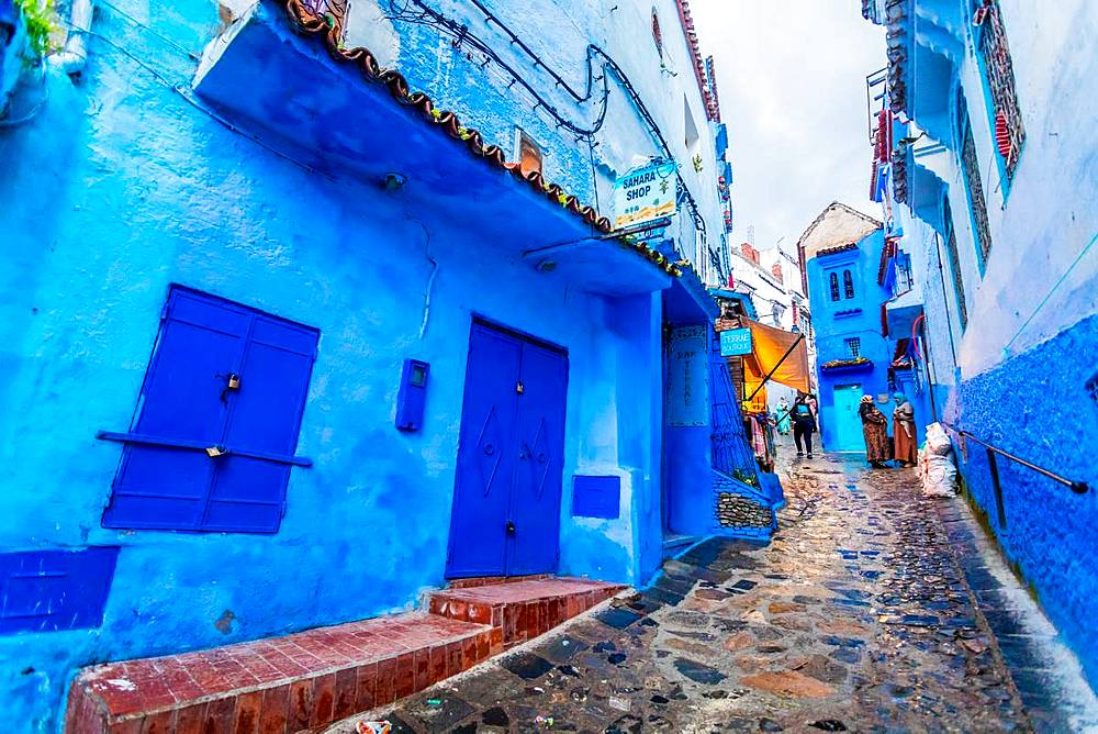 Blue City of Chefchaouen, Morocco, North Africa, Africa - 1218-675