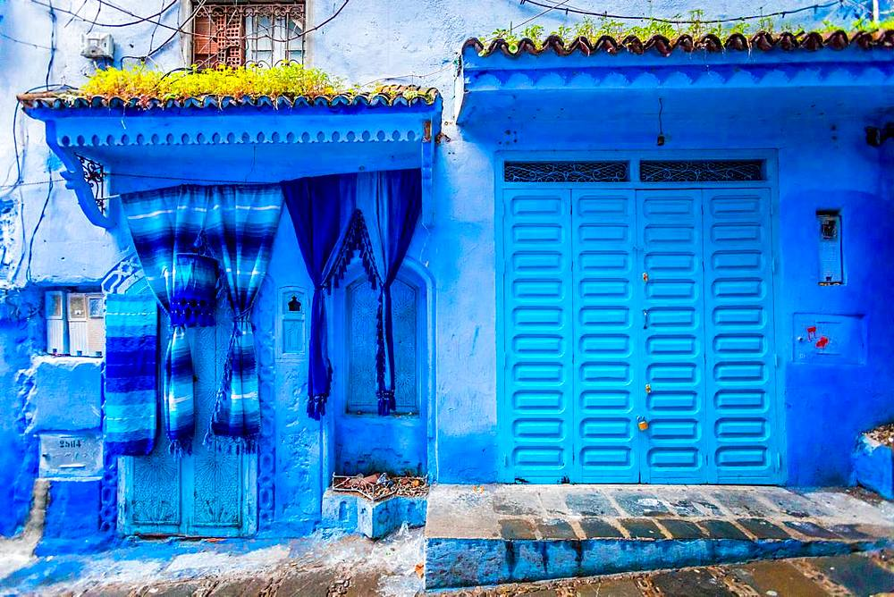 Blue City of Chefchaouen, Morocco, North Africa, Africa - 1218-676