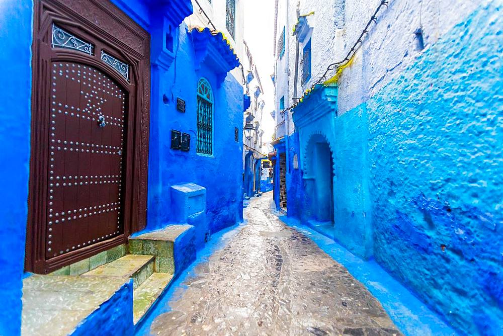 Blue City of Chefchaouen, Morocco, North Africa, Africa - 1218-678