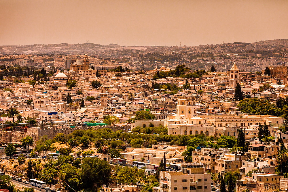 Scenic in Jerusalem, Israel, Middle East