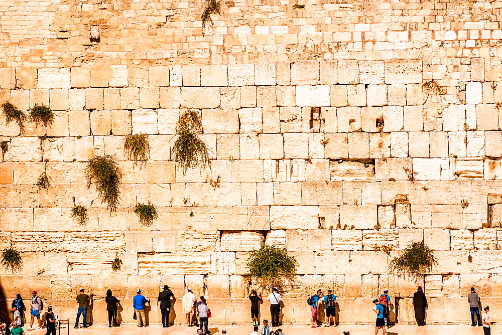 Western Wall, Jerusalem, Israel, Middle East