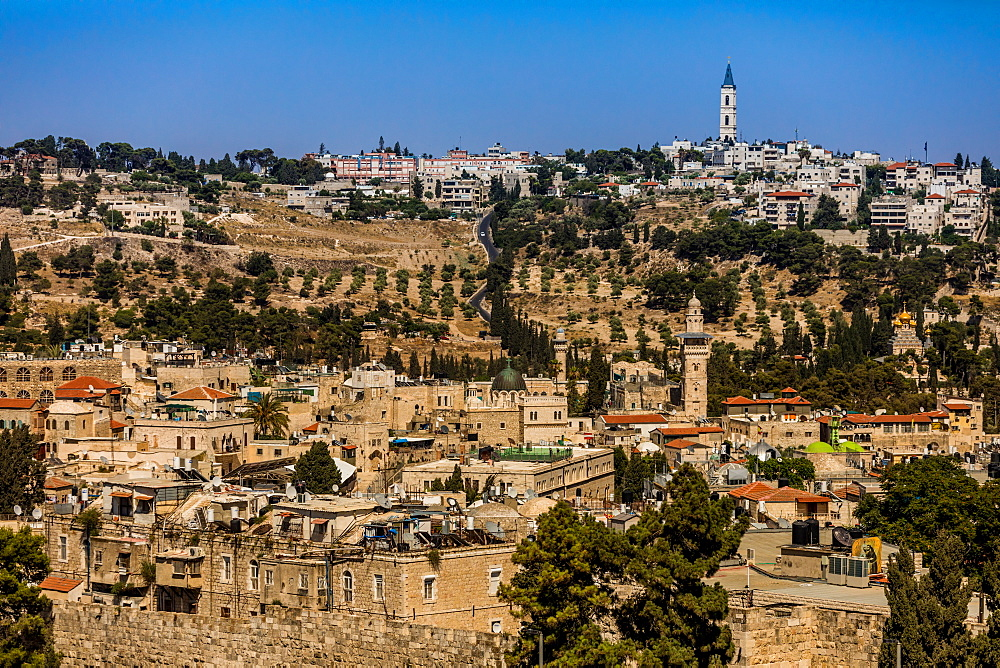 Scenic in Jerusalem, Israel, Middle East - 1218-687