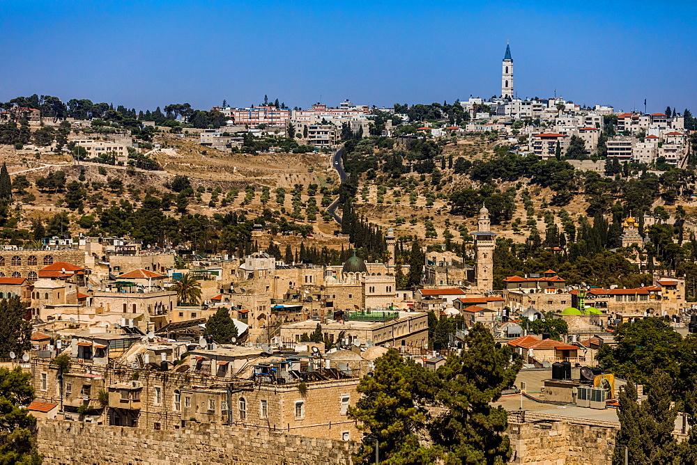 Scenic in Jerusalem, Israel