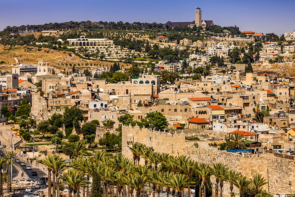 Scenic in Jerusalem, Israel, Middle East - 1218-691