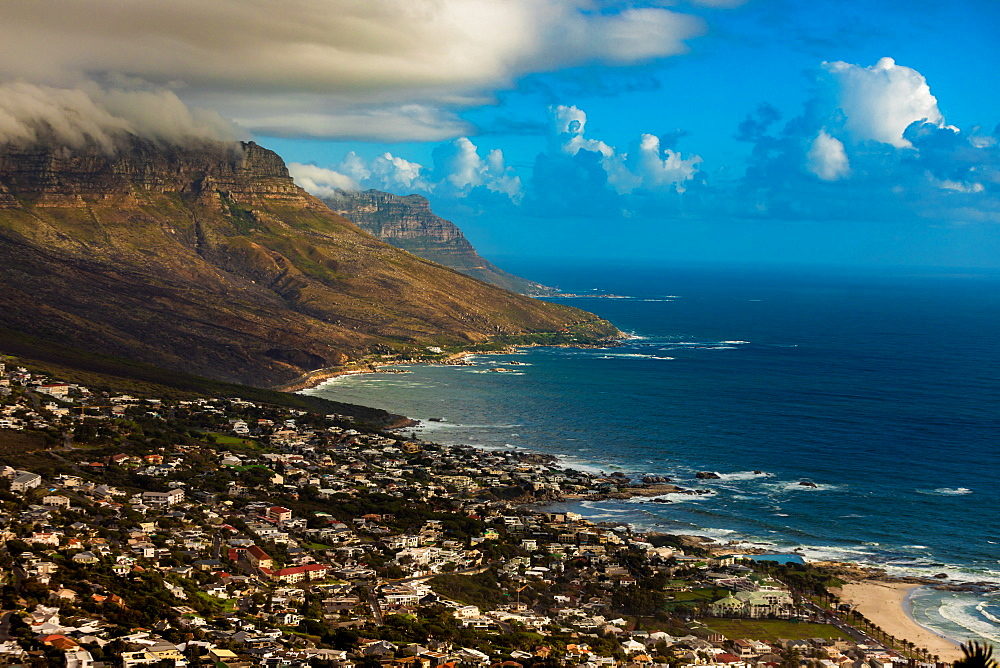 View of Camps Bay, Cape Town, South Africa, Africa - 1218-698