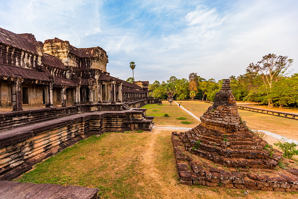 Angkor Wat temples, Angkor, UNESCO World Heritage Site, Siem Reap, Cambodia, Indochina, Southeast Asia, Asia