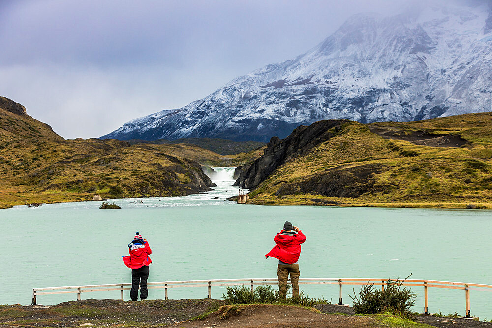 Enjoying the peaceful and beautiful scenery of Torres del Paine National Park, Patagonia, Chile - 1218-984