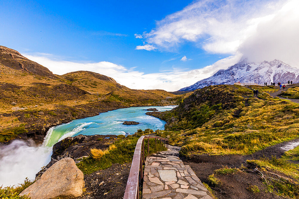 Beautiful Scenic in Torres del Paine National Park, Patagonia, Chile - 1218-998
