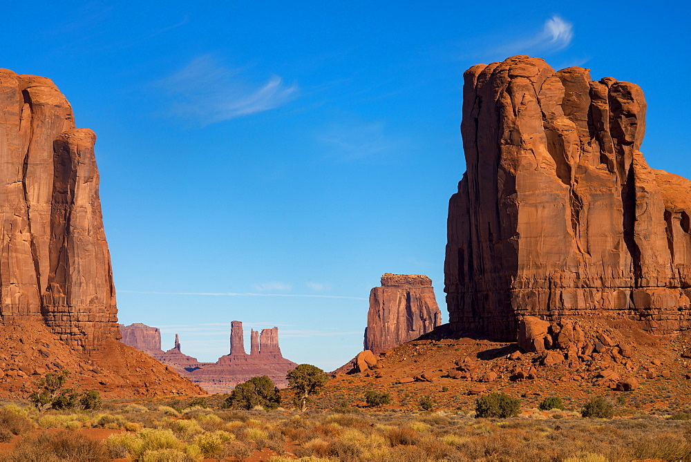 The Monument Valley Navajo Tribal Park, Arizona, United States of America, North America - 1225-1203