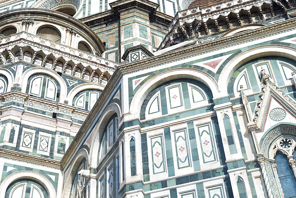The Duomo (Cathedral) in Florence, UNESCO World Heritage Site, Tuscany, Italy, Europe - 1225-1304