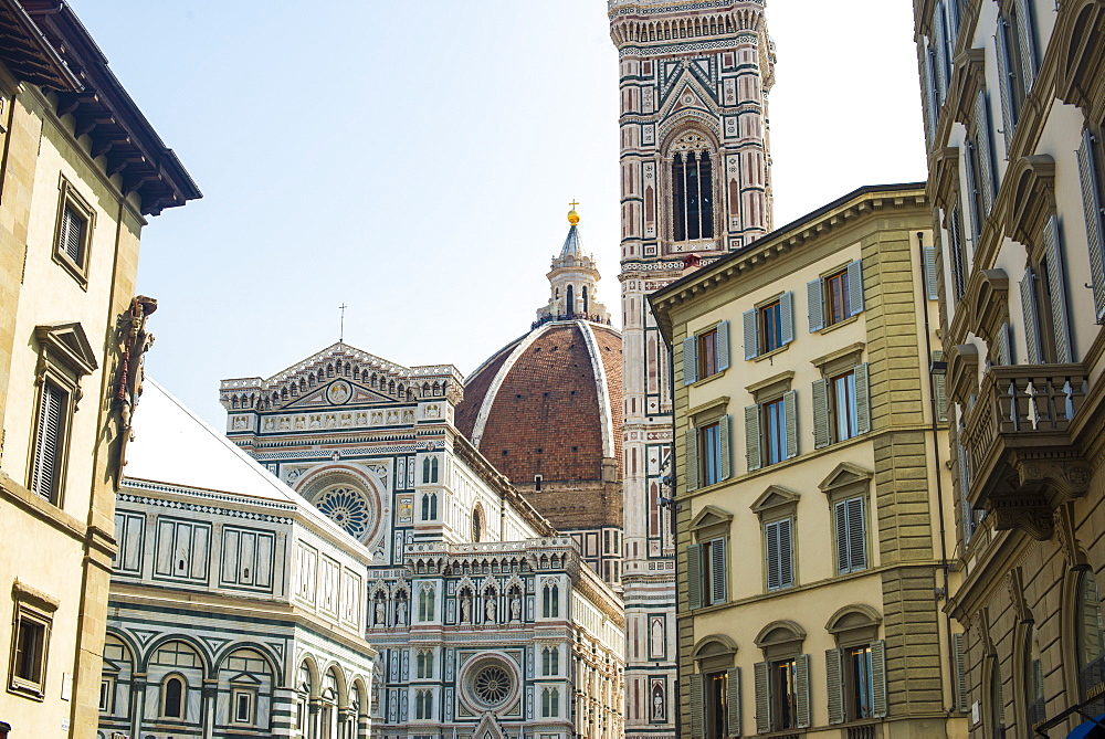 The Duomo (Cathedral) in Florence, UNESCO World Heritage Site, Tuscany, Italy, Europe - 1225-1305