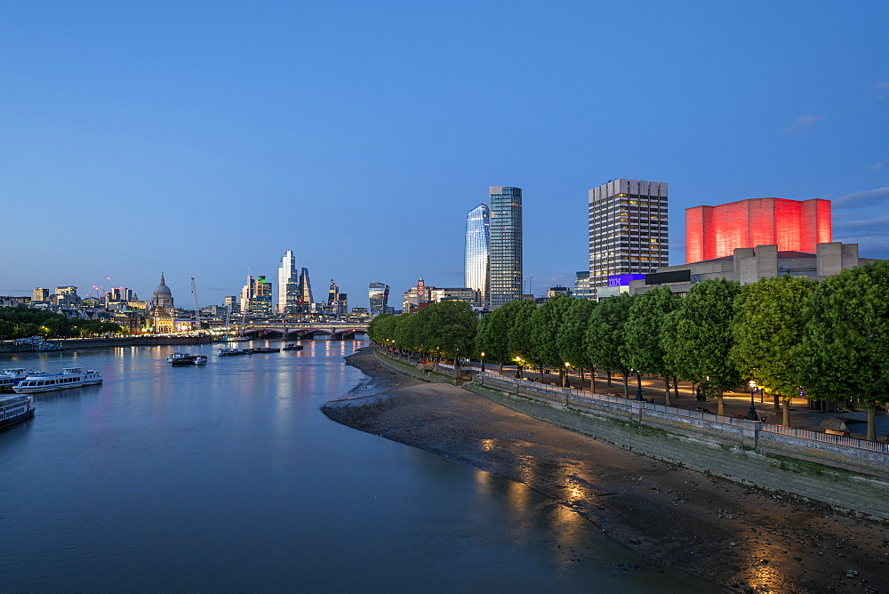 London at Blue hour