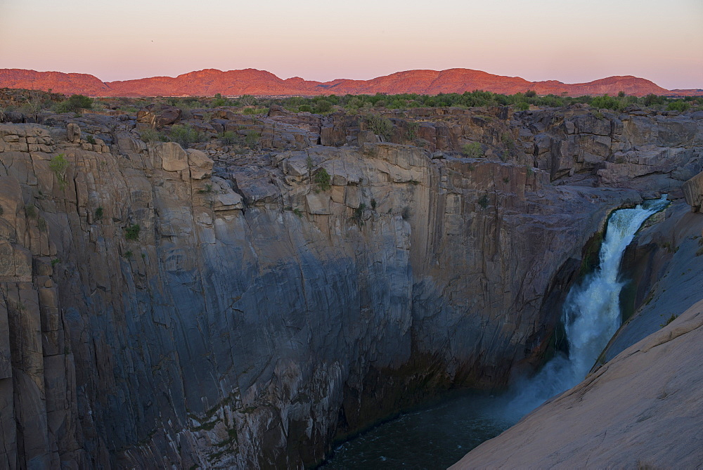 Augrabies Falls waterfall on the Orange River, Northern Cape, South Africa, Africa