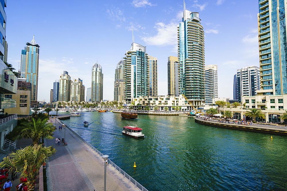 Dubai Marina, Dubai, United Arab Emirates, Middle East - 1226-140