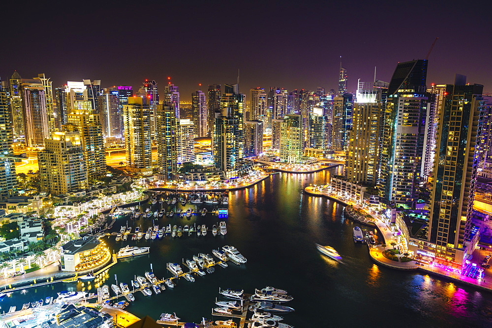 Dubai Marina, Dubai, United Arab Emirates, Middle East - 1226-194