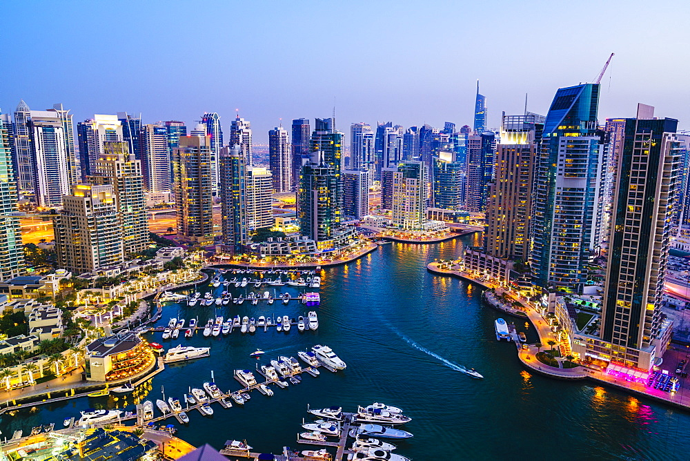 Dubai Marina, Dubai, United Arab Emirates, Middle East - 1226-195