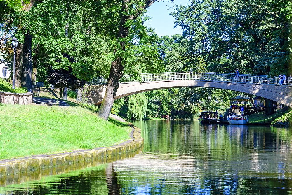 Pilsetas Canals, Riga, Latvia, Europe