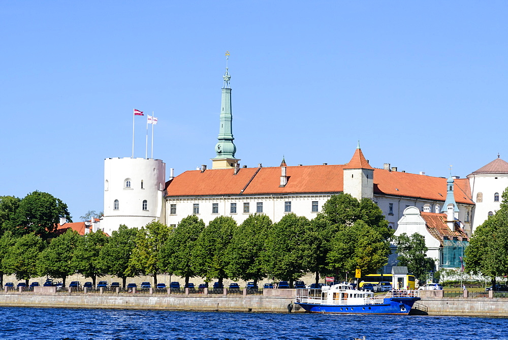 Riga Castle, Riga, Latvia, Europe