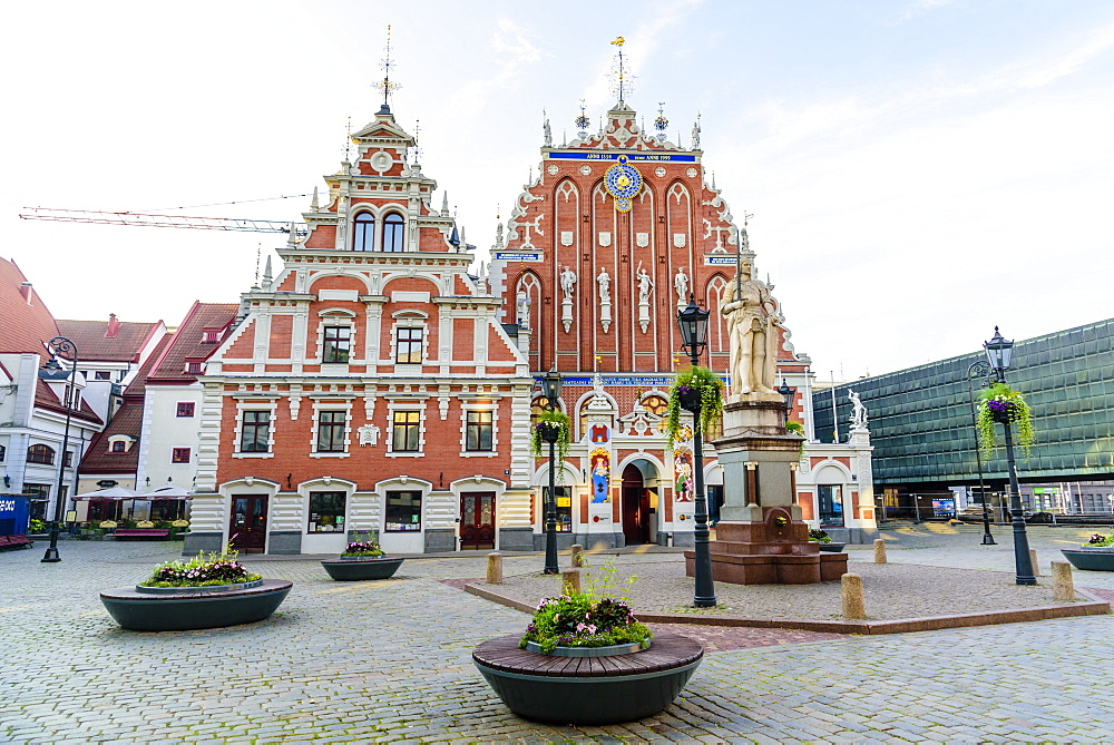 House of the Blackheads, Town Hall Square, UNESCO World Heritage Site, Riga, Latvia, Europe