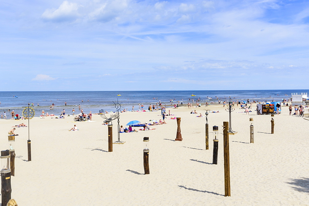 Jurmala Beach, Gulf of Riga, Latvia, Europe