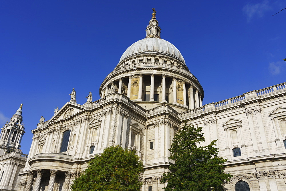 St. Paul's Cathedral, London, England, United Kingdom, Europe