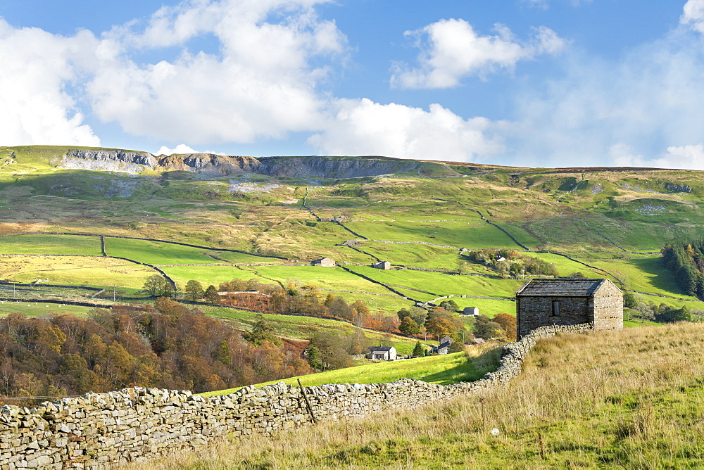 Langthwaite, remote village near Reeth in Arkengarthdale, The Yorkshire Dales, Yorkshire, England, United Kingdom, Europe - 1228-229