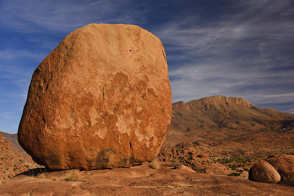 Rock formations around Tafraout, Morocco, Africa - 1235-22