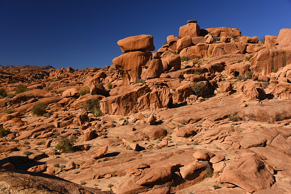 Rock formations around Tafraout, Morocco, North Africa, Africa - 1235-26