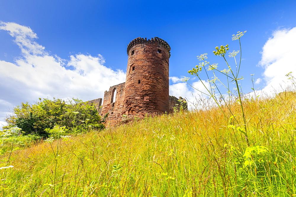 Bothwell Castle, Uddingston, South Lanarkshire, Scotland, United Kingdom, Europe