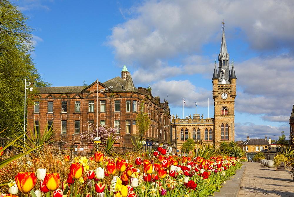 Renfrew Town Hall and Centre, Renfrewshire, Scotland, United Kingdom, Europe - 1237-357