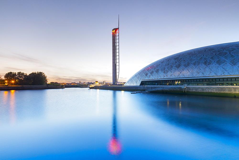 Glasgow Tower, Science Centre, Glasgow, Scotland, United Kingdom, Europe - 1237-361