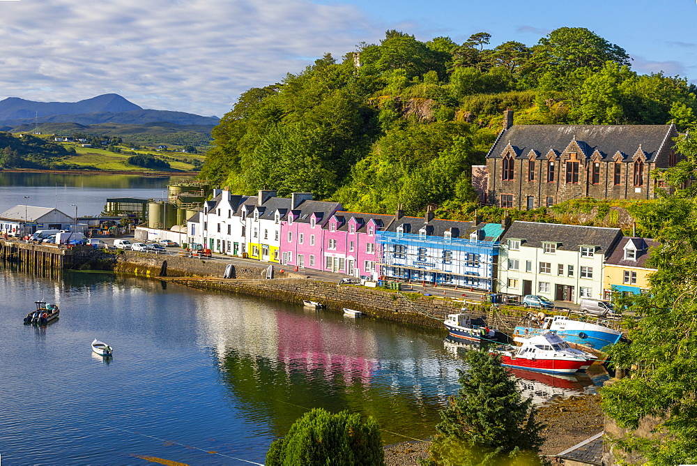 Portree Harbour, Isle of Skye, Inner Hebrides, Highlands and Islands, Scotland, United Kingdom, Europe - 1237-363