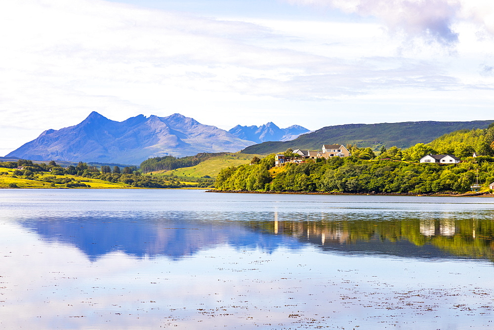 Loch Portree, Isle of Skye, Inner Hebrides, Highlands and Islands, Scotland, United Kingdom, Europe - 1237-368