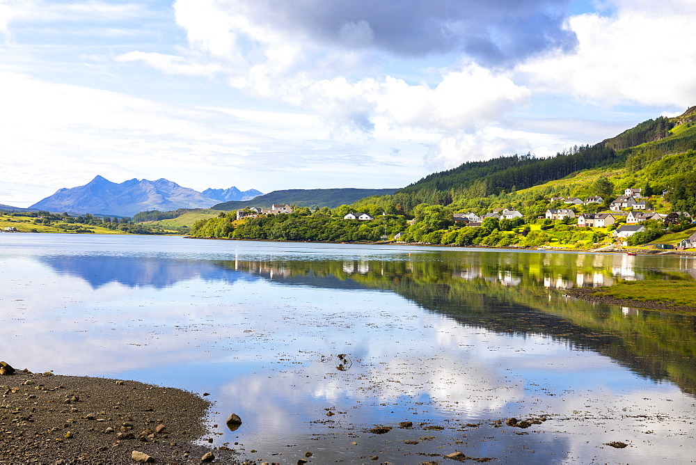 Loch Portree, Isle of Skye, Inner Hebrides, Highlands and Islands, Scotland, United Kingdom, Europe - 1237-369