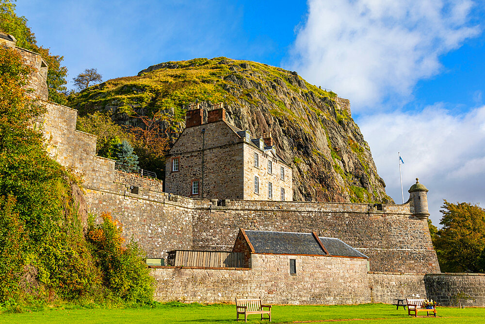 Dumbarton Castle, Dumbarton Rock, Dunbartonshire, Scotland, United Kingdom, Europe - 1237-383