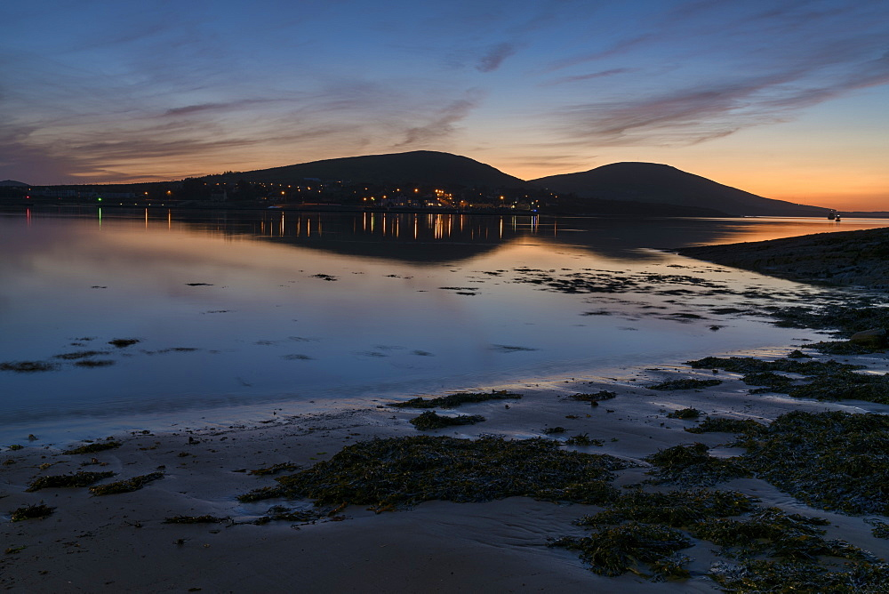 Reenard Point, Knightstown Harbour, County Kerry, Munster, Republic of Ireland, Europe - 1240-255