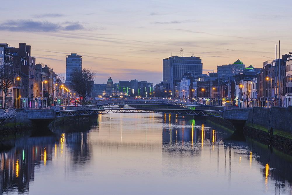 The Liffey River, Dublin, Republic of Ireland, Europe - 1240-312