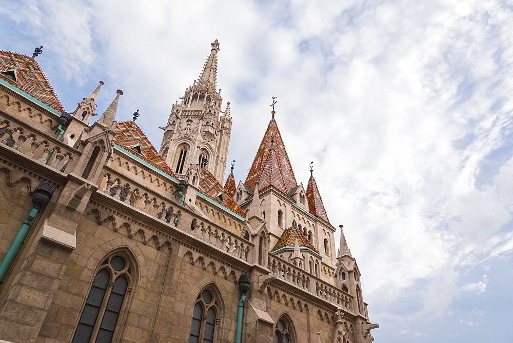 St. Matthias Cathedral, Budapest, Hungary, Europe - 1241-151