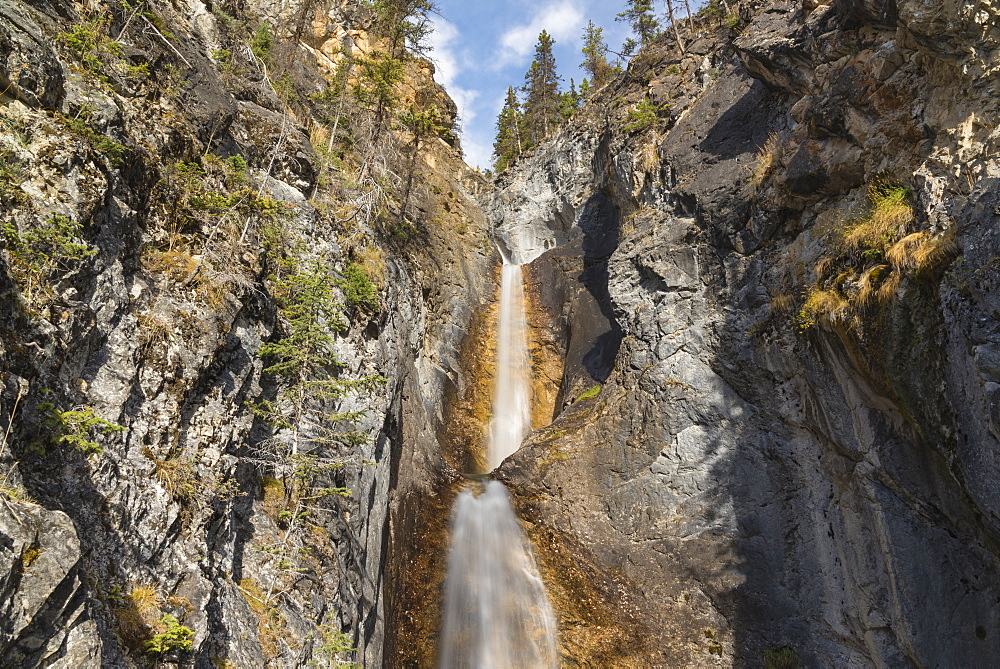 Silverton Falls, Banff National Park, UNESCO World Heritage Site, Alberta, Canadian Rockies, Canada, North America - 1241-246
