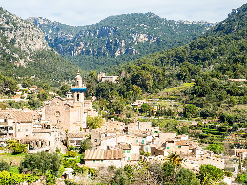 Valdemossa, Mallorca, Spain, Balearic Islands, Spain, Mediterranean, Europe - 1242-102
