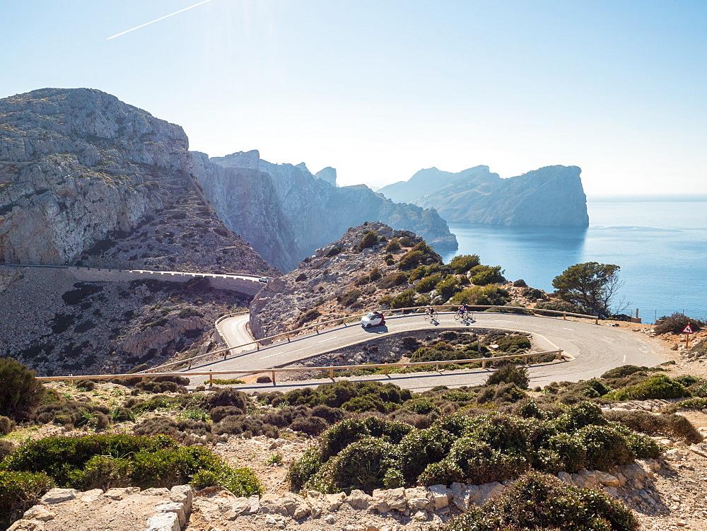Cap de Formentor, Mallorca, Balearic Islands, Spain, Mediterranean, Europe - 1242-108