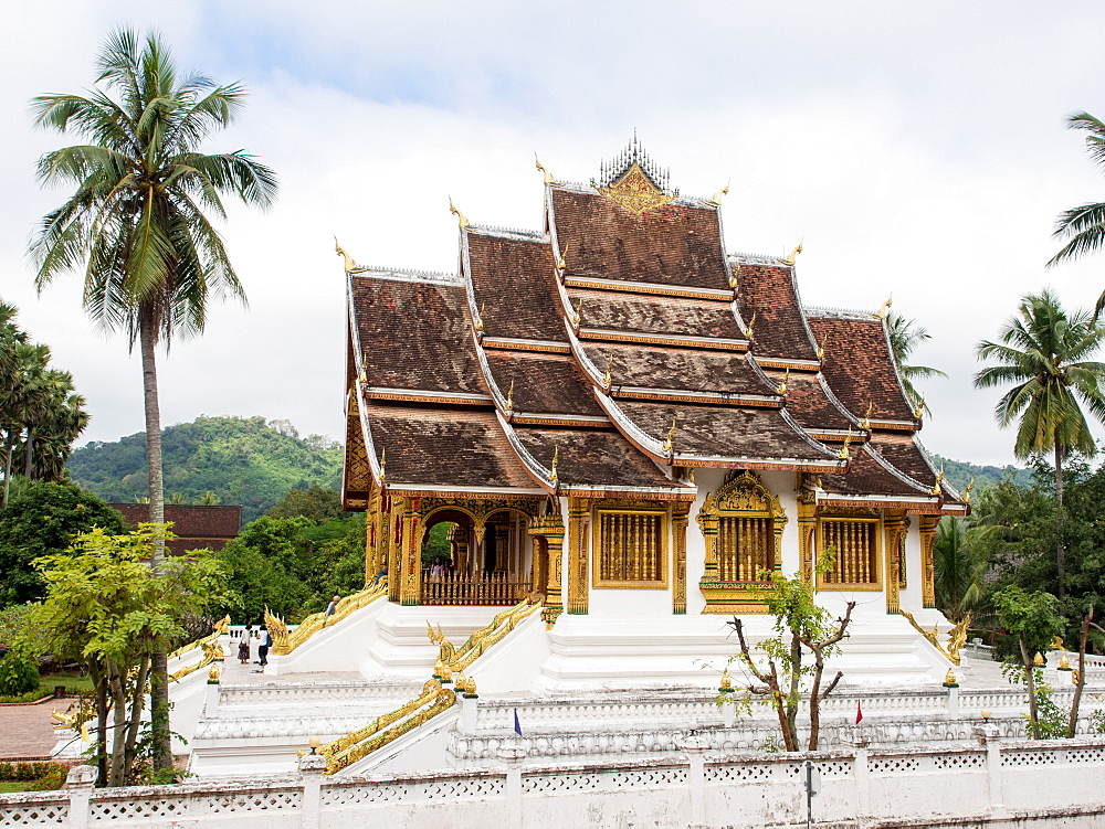 Haw Pha Bang temple, part of the National Museum complex, Luang Prabang, Laos, Indochina, Southeast Asia, Asia - 1242-209