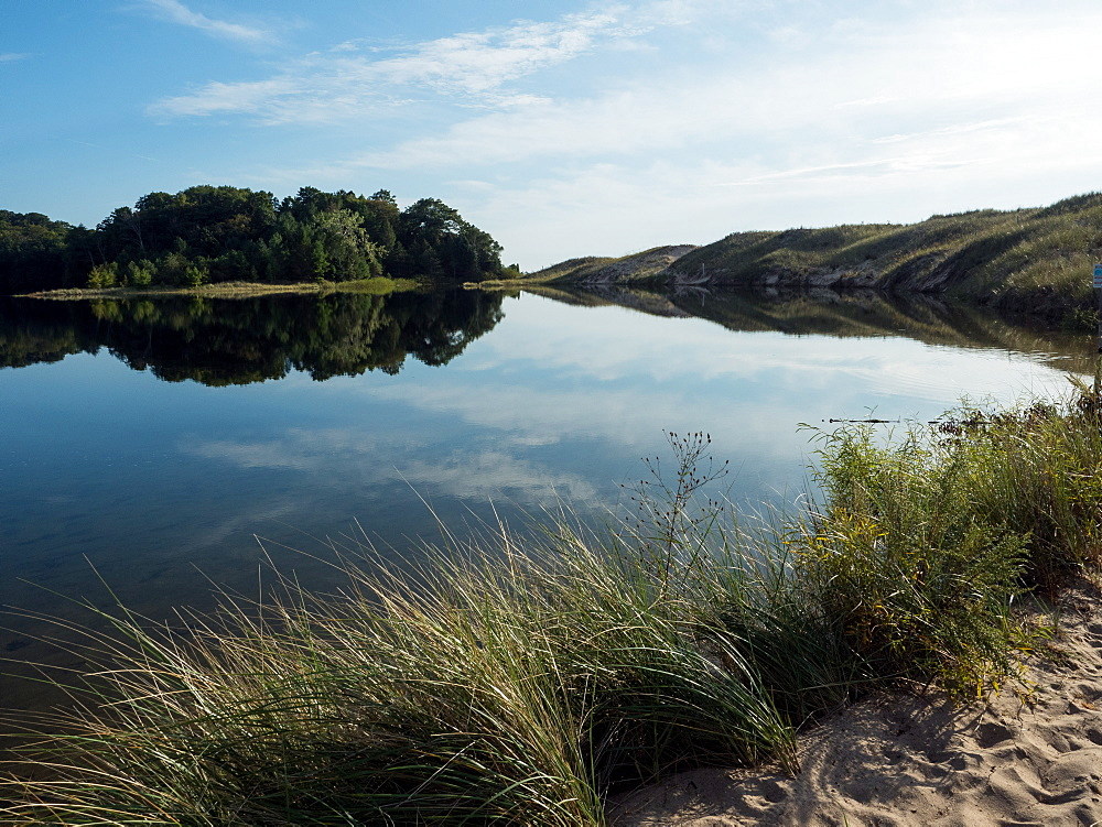Pond, Sleeping Bear Dunes National Park, Glen Arbor, Michigan, United States of America, North America