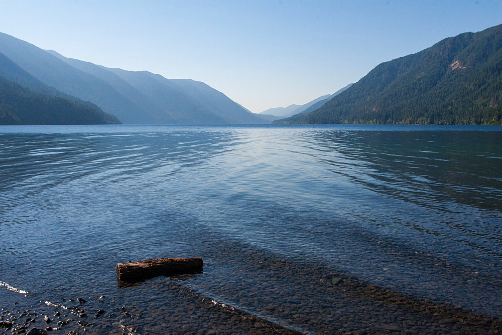 Lake Crescent, Olympic National Park, UNESCO World Heritage Site, Washington State, United States of America, North America - 1242-413