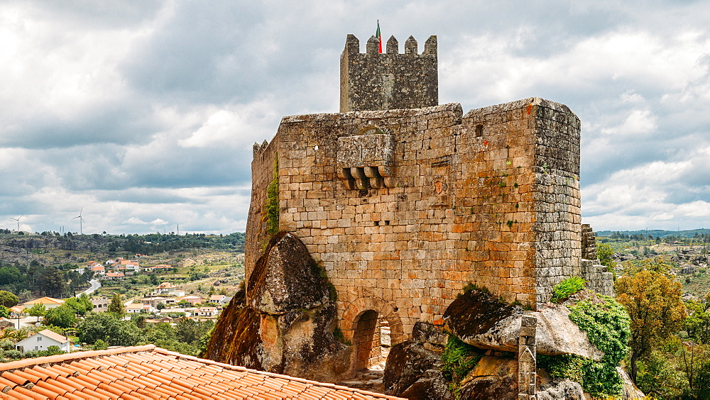 Sortelha, a historical mountain village, built within Medieval fortified walls, included in Portugal's Historical Village route, Sortelha, Portugal, Europe - 1243-271