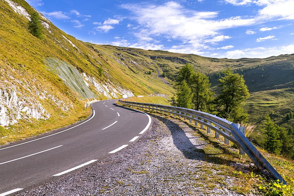 Nockberge, Nockalm Panoramastravue, Hohe Tauern, Carinthia, Austria, Europe
