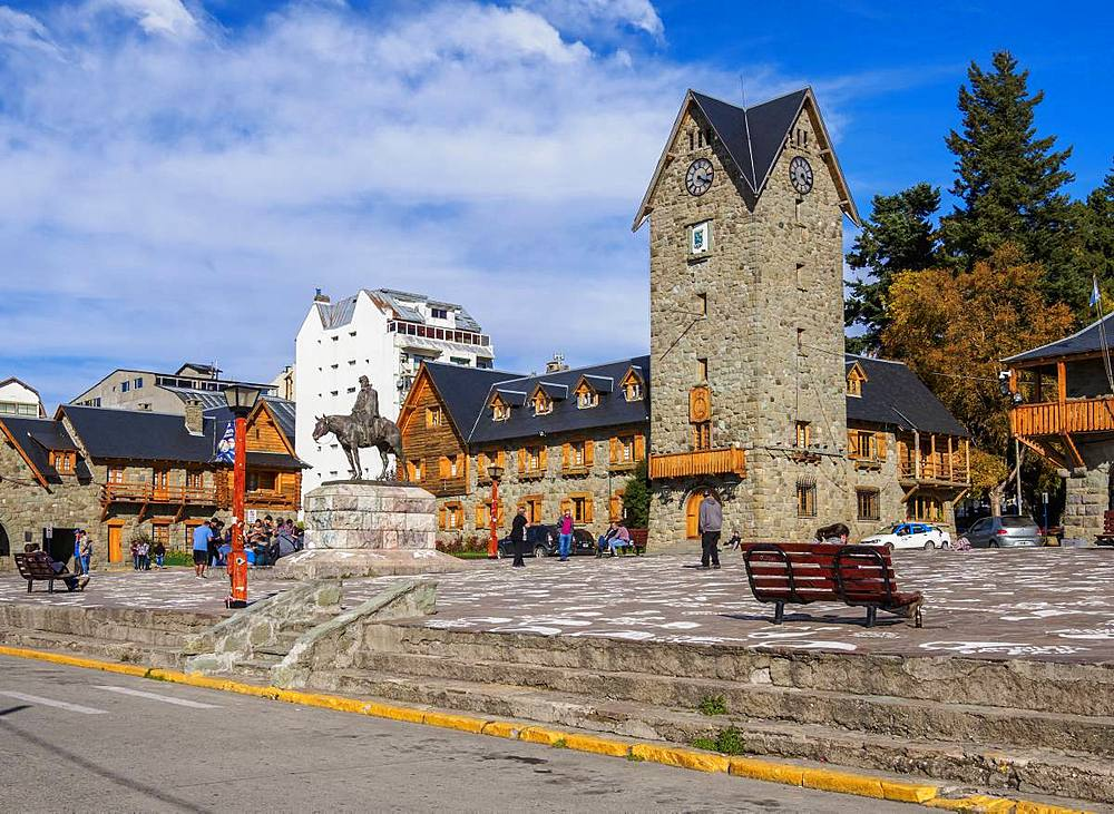 Civic Center, San Carlos de Bariloche, Nahuel Huapi National Park, Rio Negro Province, Argentina, South America