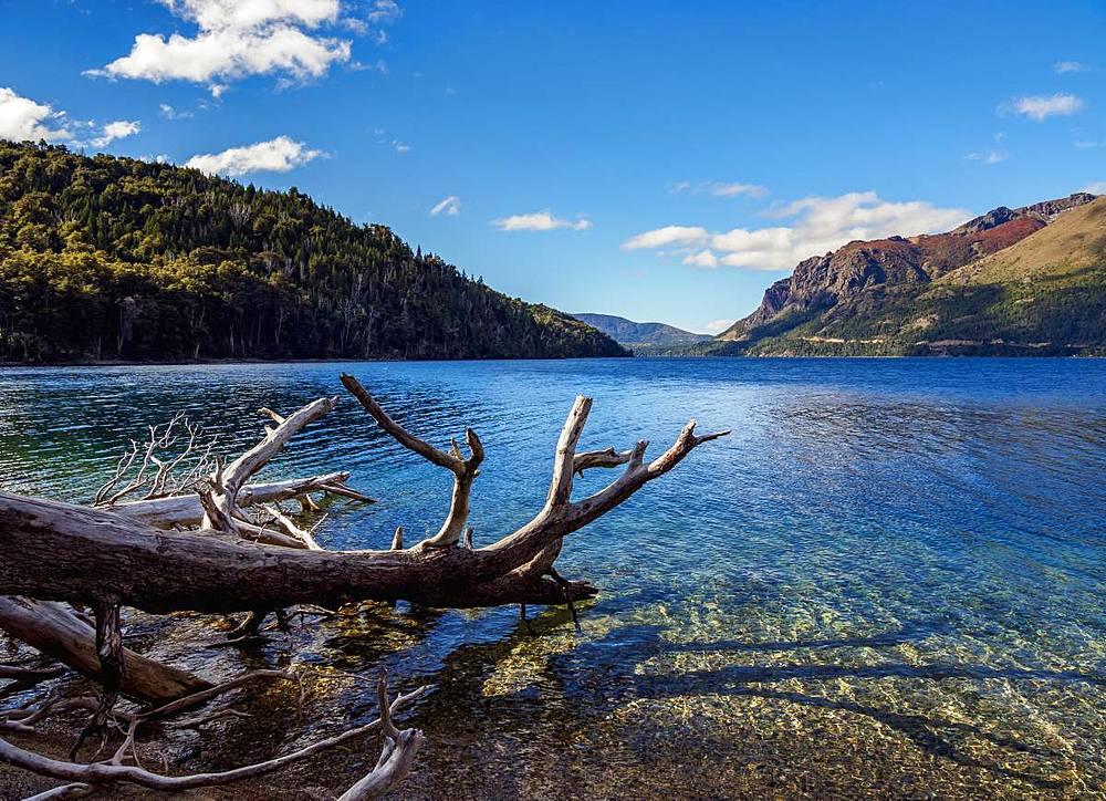 Munoz Beach, Gutierrez Lake, Nahuel Huapi National Park, Rio Negro Province, Argentina, South America