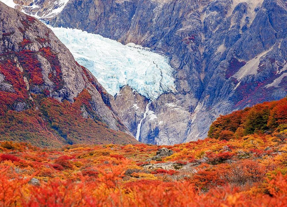 Piedras Blancas Glacier, Los Glaciares National Park, Santa Cruz Province, Patagonia, Argentina - 1245-1117